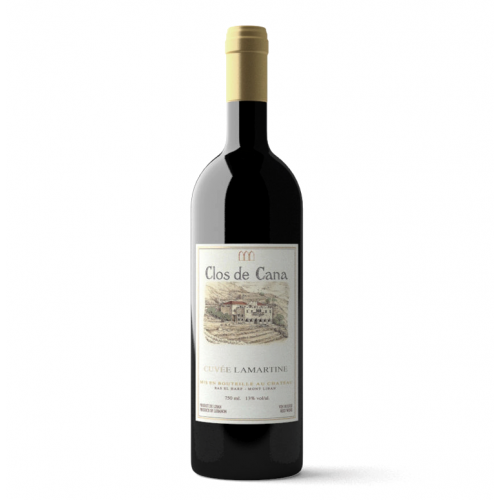 Cuvee Lamartine 2008 of Chateau Cana from the Lebanon