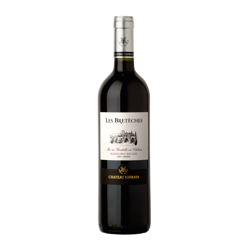 Les Breteches Rouge 2017 of Chateau Kefraya from the Lebanon