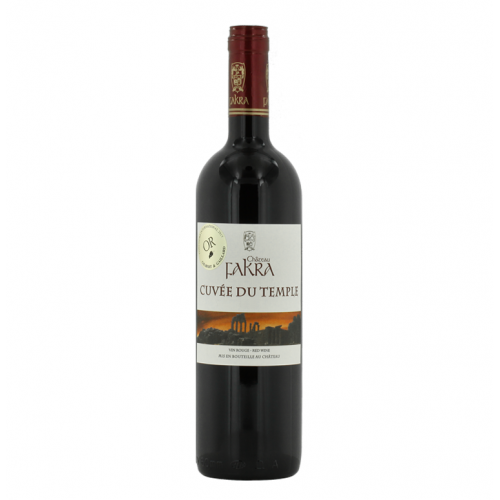 Cuvee du Temple 2016 of Chateau Fakra from the Lebanon